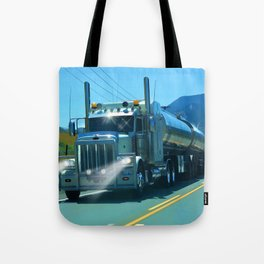 On the Highway Home Tote Bag