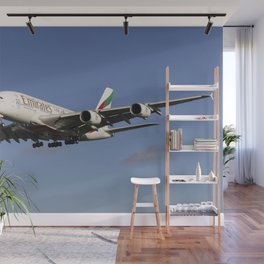 Emirates Airbus A380 Wall Mural