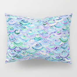 Marble Mosaic in Sapphire and Emerald Pillow Sham