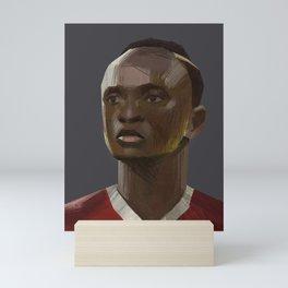 The Main Mane - Football Mini Art Print