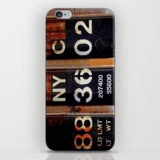 NYC 88 36 02 iPhone & iPod Skin