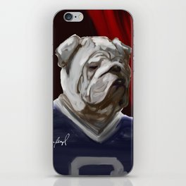 Bulldog Mascot II iPhone Skin