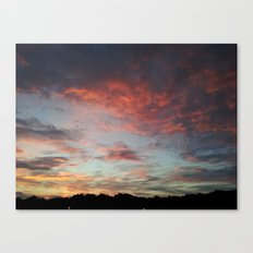 Speckled Sky Canvas Print
