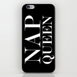 NAP QUEEN iPhone Skin