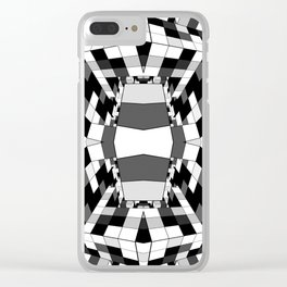 Rubik series 3 Clear iPhone Case