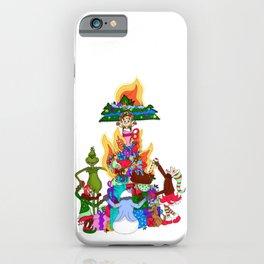 Infernal Grinch Farandole iPhone Case