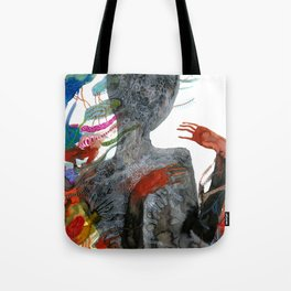 with my voice i'm calling you Tote Bag