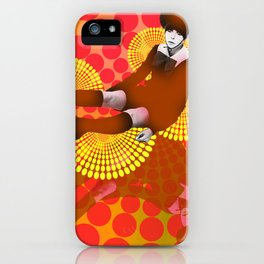 Supermodel Peggy 3 - Supermodels of the Sixties Series iPhone Case
