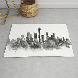 Seattle Black and White Rug