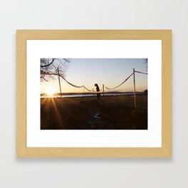 X files Framed Art Print