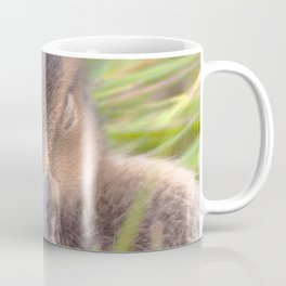 Watercolor Bird, Gadwall Duck 03, Lake Myvatn, Iceland Coffee Mug