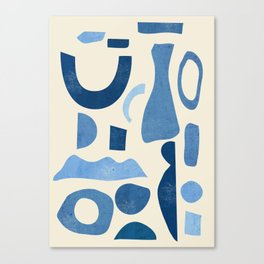 Abstract Shapes 38 Canvas Print