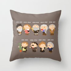 science for nerds  Throw Pillow