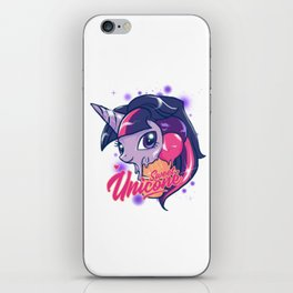 SWEET UNICONE iPhone Skin