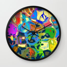 Another Fine Mess Wall Clock
