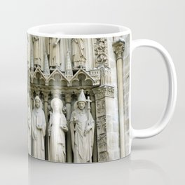 Notre Dame Cathedral Paris Detail Coffee Mug