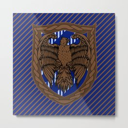 HP Ravenclaw House Crest Metal Print