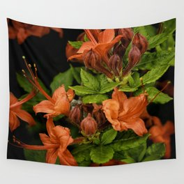 Red Flame Azaleas, Gregory's Bald, Tennessee Wall Tapestry
