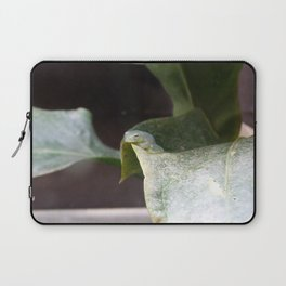 The invisible frog Laptop Sleeve