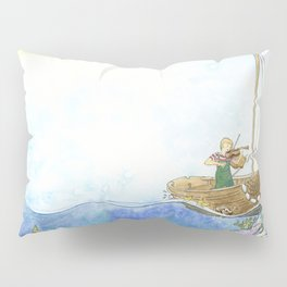 Maritime Festival Celebration Pillow Sham