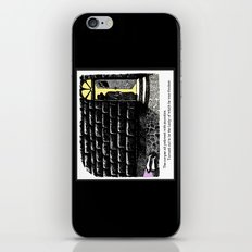 Jaundiced Lady iPhone & iPod Skin