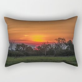 Great ball of fire Rectangular Pillow