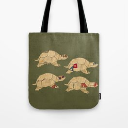 Heroes in a pizza box... Turtle Power! Tote Bag
