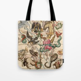 Constellation Chart 1693e Tote Bag