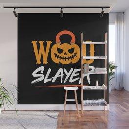 WOD Slay er Pumpkin Wall Mural