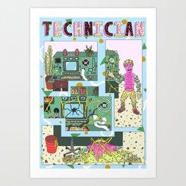 technician Art Print
