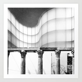 Architecture of Impossible_Ancient Milan Art Print