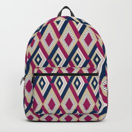 AFE Diamond  Pattern Backpack