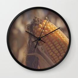 Corn Maize Wall Clock