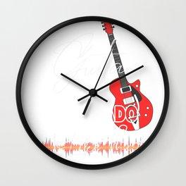 Colorado Springs ColoradoGuita Music is like that retro Custom Wall Clock