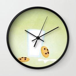Cookies n' Milk Wall Clock