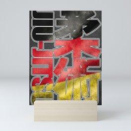 Jiu Jitsu - BJJ - Ju Jutsu - Germany / Deutschland Mini Art Print