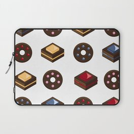 Mouth Watering Donuts and Cakelicious Laptop Sleeve