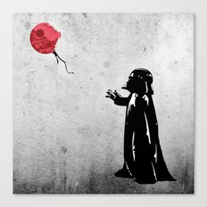 Little Vader - Inspired by Banksy Canvas Print