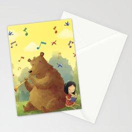 Friend Bear Stationery Cards