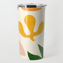 Abstraction_Floral_001 Travel Mug