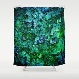 Underwater Wood 2 Shower Curtain