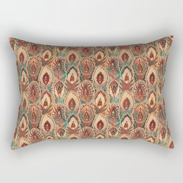 bizarre feathers pattern Rectangular Pillow