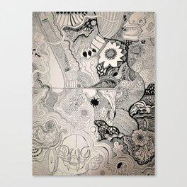 Wriggle and Writhe Canvas Print