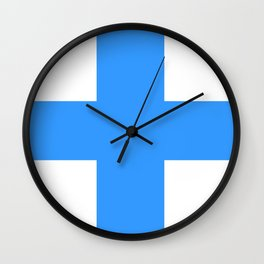 Marseille city flag france country symbol Wall Clock