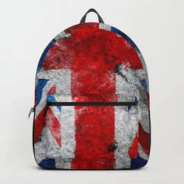 UK Grunge flag Backpack
