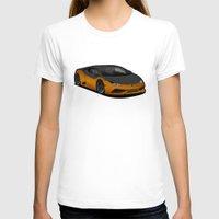 lamborghini T-shirts featuring Lamborghini Huracan by IrvSim