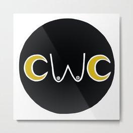 CWC New Moon Logo Metal Print