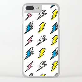 Thunderbolts Clear iPhone Case