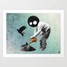 cria cuervos  Art Print