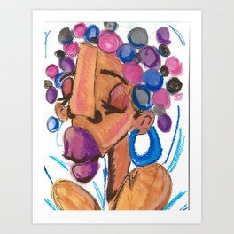 Earthly Art Print